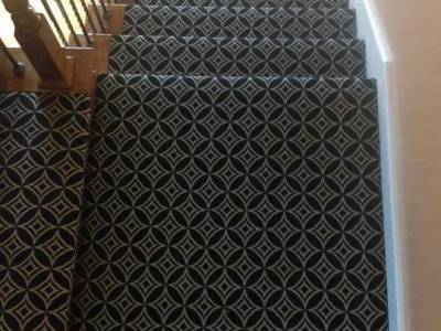 Stairway Carpeting Installation 2