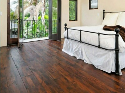 Bedroom Hardwood Installation